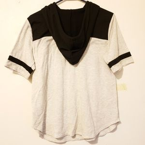 Maurices Tops - Maurices short sleeve football hoodie